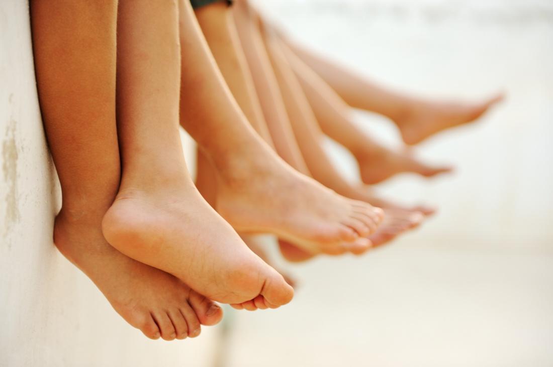 Фото нормальных ног у детей
